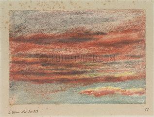 Clouds  16.30  20 November 1883.