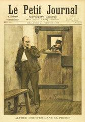 Dreyfus in Prison  20 January 1895.