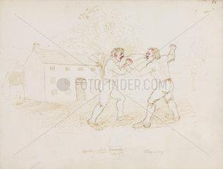 Fighting  Northumberland  c 1805-1820.