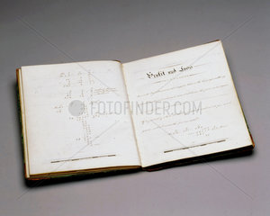 School exercise book  English  1862.