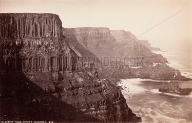 'Pleaskin Head  Giant's Causeway'  Northern Ireland  c 1850-1900.