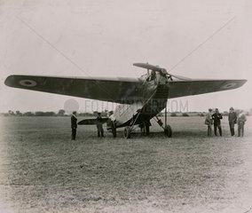 DH 29 Doncaster monoplane  1922.