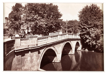 'Leamington  The Town Bridge'  c 1880.