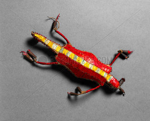 Lizard amulet  Plains Indians  USA and Canada.
