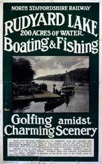 'Rudyard Lake'  NSR poster  1900-1922.