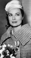Princess Grace of Monaco  Paris  October 1959.