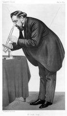 Sir Frank Crisp  English lawyer  botanist and eccentric  1890.