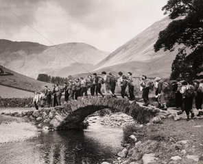Girls' Outward Bound Course in Cumbria  1954