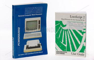 Word processor manuals  c 1980s.