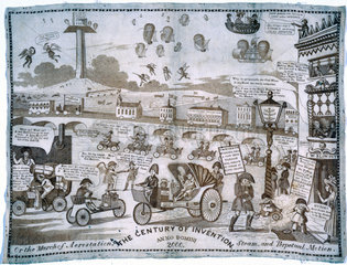 'The Century of Invention'  c 1834.