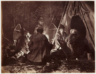 'Campfire'  1860.