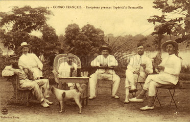 Absinthe in the French Congo  c 1900.