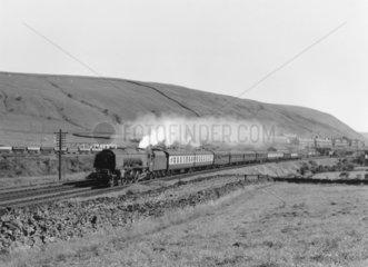 British Railways steam locomotive 'City of Liverpool  1957.