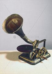 Berliner gramophone  1890.