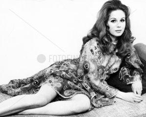 Joanna Lumley  British actress  September 1970.