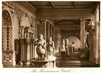 Renaissance Court  the Crystal Palace  Sydenham  London  1911.