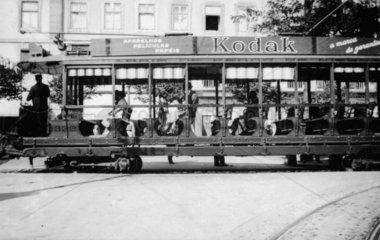 Portuguese tram  Lisbon  1932. Photograph b