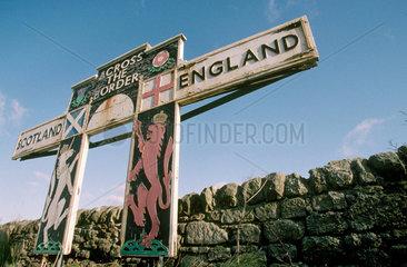 Scottish border  1999.