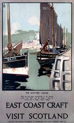 'East Coast Craft'  LNER poster