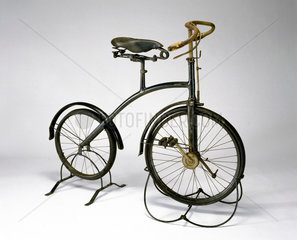 'Bantam' bicycle with crypto epicyclic gear to front hub  c 1893.