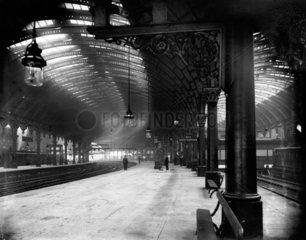 York Station  c 1906.