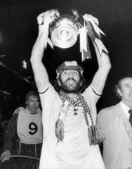 Ricky Villa with FA trophy  1981.