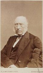 John Phillips  English geologist  c 1870.