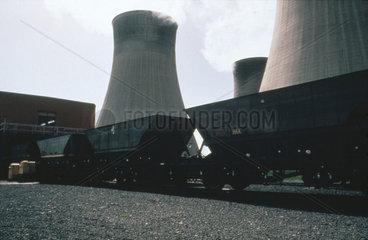 Merry Go Round at Cottam Power Station  1970-1995.