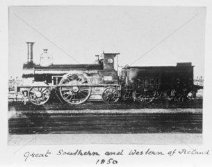 Locomotive number 48  1850