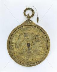 Planispheric astrolabe  Syrian  9th century.