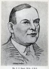John Johnson Shaw  seismologist  c 1920.