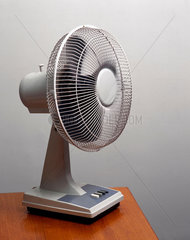 Fan on a table-top  1997.
