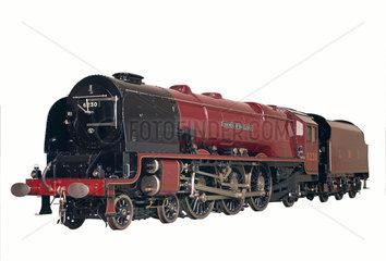 Duchess of Hamilton locomotive.