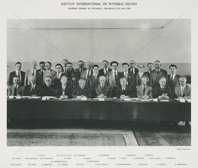 Eleventh Solvay Physics Conference  Brussels  1958.
