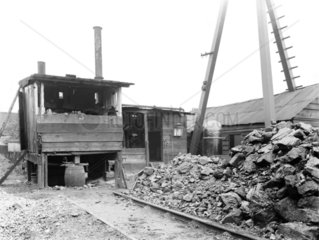Pumping plant at Eccles  Greater Manchester  9 October 1924.