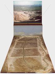 Ancient Nile irrigation scheme.