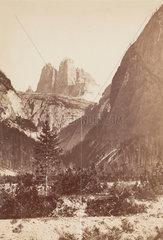 The Dolomites  Italy  c 1850-1900.