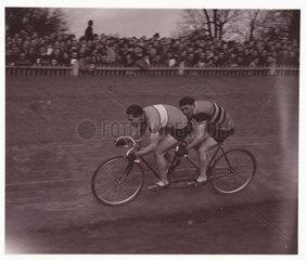 Tandem racers  1937.