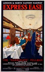 'Express Ease'  LNER poster  1923-1930.