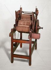 Arkwright's carding machine  1775.