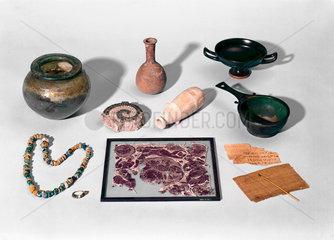 Eastern Mediterranean chemical crafts  c 300 BC.