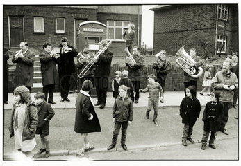 Bacup Coconut Dancers' Band  1968.