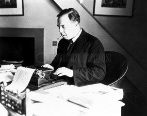 JB Priestley  English writer and broadcaster  1940.