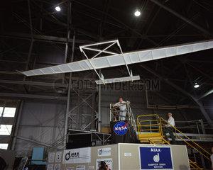 Record-breaking paper aeroplane  USA  1992.