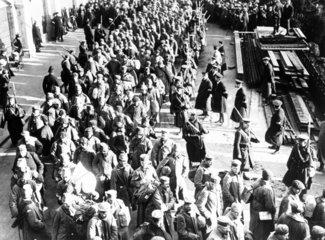 German prisoners of war (POWs)  Southend-on