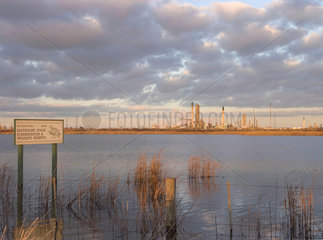 ICI plant and Saltholme Pools nature reserve  2005.