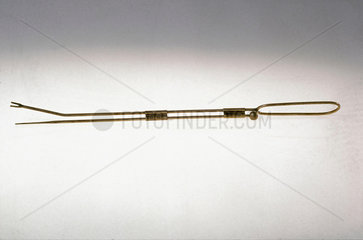 Dalkon Shield intra-uterine device contraceptive  1971-1974.