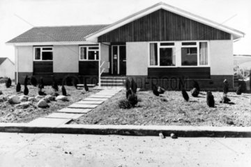 Barratts' 'Barbados' bungalow  Scotland  November 1975.