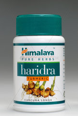Container of Haridra tablets  2004.