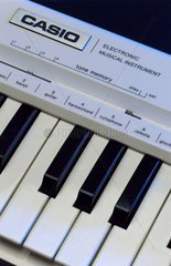 Casio 'Casiotone MT-30' electronic keyboard  1980-1981.
